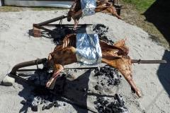 Grillning av lamm